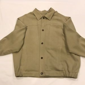 Tommy Bahama lightweight silk/cotton jacket